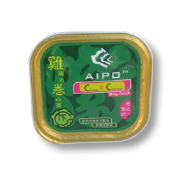 爱扑AIPO高级犬用罐头(鸡胸肉+卷心菜)